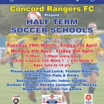51973 Half Term Soccer school Flyer
