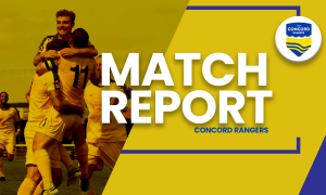 MATCH REPORT| Concord Rangers 1-1 Woking