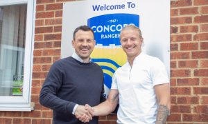 Concord Rangers sign local shot stopper Chris Haigh