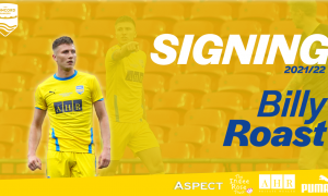 Billy Roast signs for his fourth season!