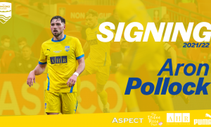 Aron Pollock signs for the fourth season in-a-row!